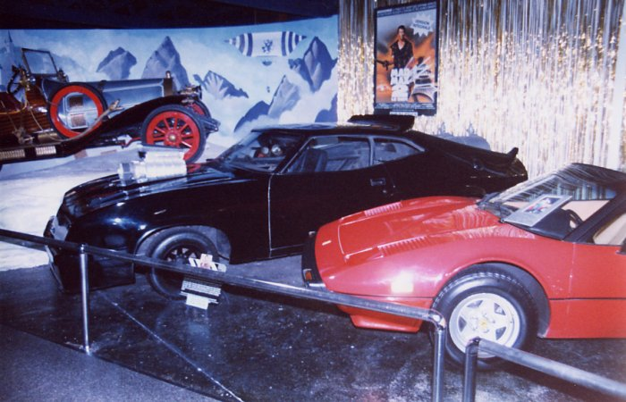 Chitty Chitty Bang Bang, The Mad Max Interceptor, and Magnum PIs Ferrari at Cars Of The Stars Motor Museum