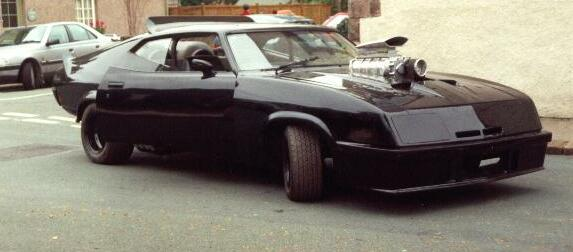 Mad Max Interceptor - Profile shot of the car as delivered to Cars Of The Stars
